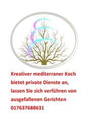 Kreativer mediterraner Koch