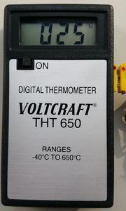 Digitalthermometer -40 - 650°C 2 Stück