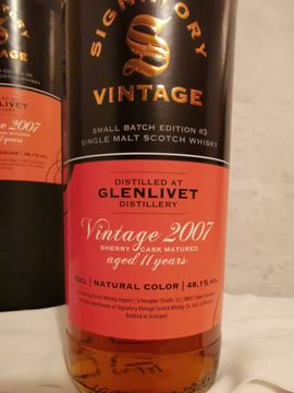 Essen und Trinken - Whisky glenlivet 11 Jahre