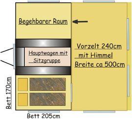 Faltcaravan SK16 Monarch: Kleinanzeigen aus Schiers - Rubrik Wohnwagen