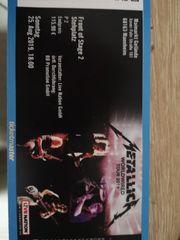 1 Metallica FoS2 Ticket Mannheim