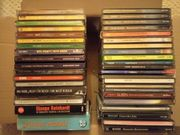 50 CD s gemischt im