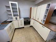 NOLTE Landhaus Küchenzeile Einbauküche E-Geräte