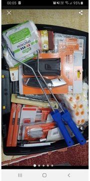 koffer mit werkzeuge gemischt