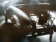 Plakat Kunst Mercedes Gullwing W198