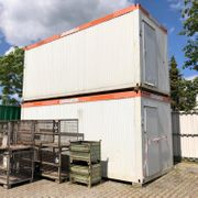 Container Bürocontainer Schlafcontainer Baucontainer ab