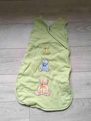 kuscheliger Schlafsack in hellgrün - 70
