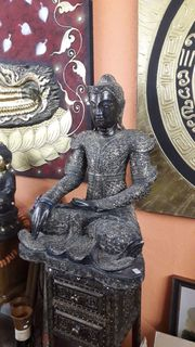 Seltene alte Buddhafigur 90 cm