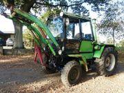 Traktor Schlepper Oldtimer Deutz Intrac