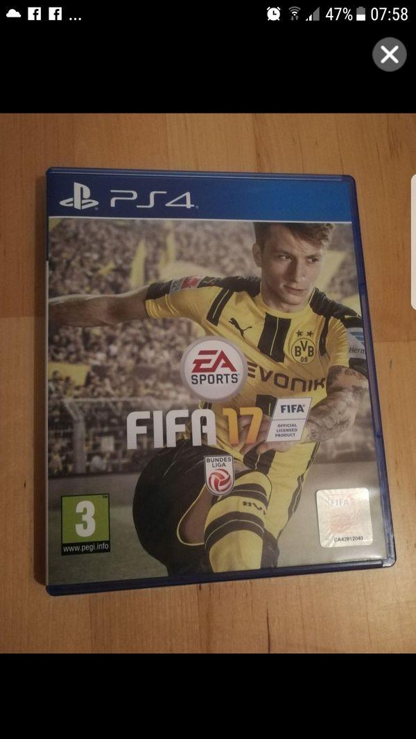 Playstation 4 Spiel Fifa17 PS4