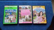3 verschiedene PC Spiele AB