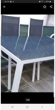 Garten Tisch mit 4 Stühlen