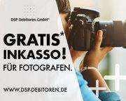 Kostenloses -vorgerichtliches- Inkasso für Fotografen