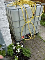 Wassertank 1000 l Tank Kunststofftank