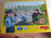 Kinderspiel Lesepolizei