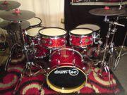 Roland TD30 Drumtec Diablo Red