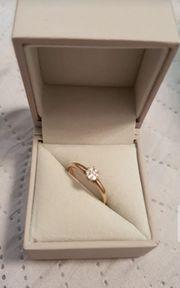Diamant Goldring von Christ