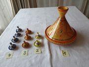 Tajine Keramik und Mini Tajine