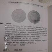 2 Euro WWU 2009 Stempelglanz