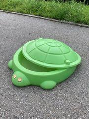 Sandkasten Schildkröte