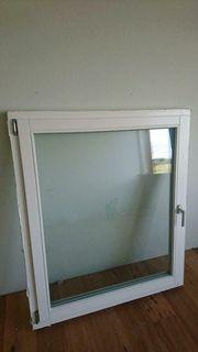 3 Holzfenster 114 cm breit