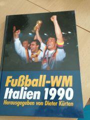 Buch Fußball WM Italien 1990