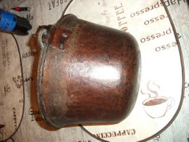 Sonstige Antiquitäten - ACHTUNG Weihnachtsgeschenk Antiker Kupfer Kessel