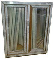 Kunststofffenster Fenster 100x120cm bxh 2-fl