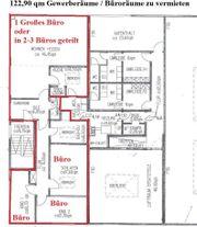 122 90 qm Gewerberäume Büroräume