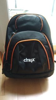 Basecamp Concourse Notebook Rucksack schwarz
