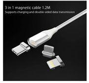 Magnetisches Ladekabel 3 in 1