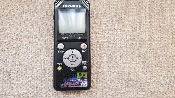 Nagelneu Olympus WS-813 Diktiergerät