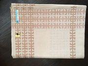 Tischdecke aus Halbleinen 130x160