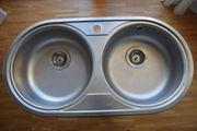 Edelstahl Küchenspüle Einbauspüle mit zwei