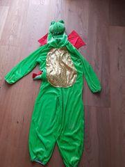 Fastnacht Fasching Kostüm Drache 3-6