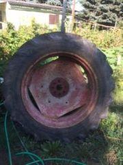 2 Traktoren-Felgen für Bereifung 12 4