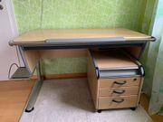 Moll-Schreibtisch Rollcontainer