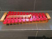 Glockenspiel Holz Metall