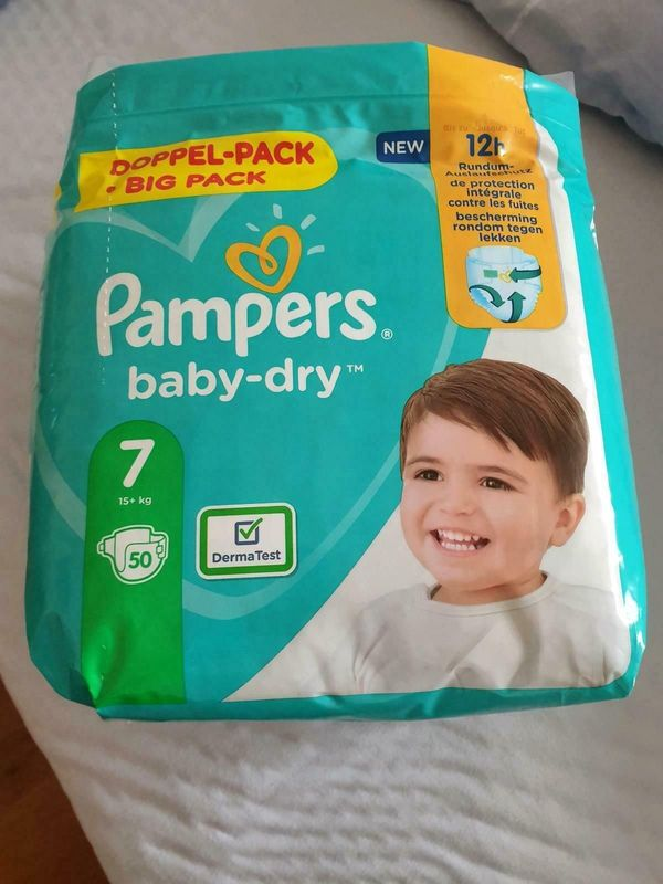 Pampers baby dry gr 7