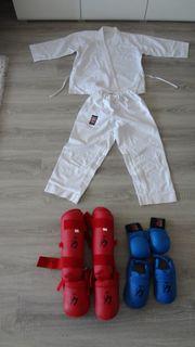 Chikara Karate Anzug Faustschutz Bein-