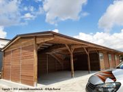 Aussenbox Pferdestall Pferdeboxen Weidehütte Offenstall