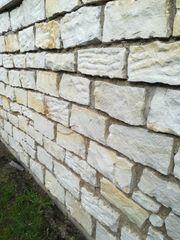 Sandstein Mauersteine Naturstandstein sofort abzuholen