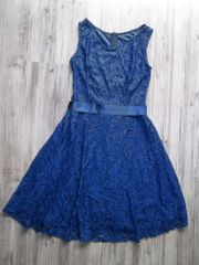 Ballkleid Spitzenkleid Neu Originalverpackt blau