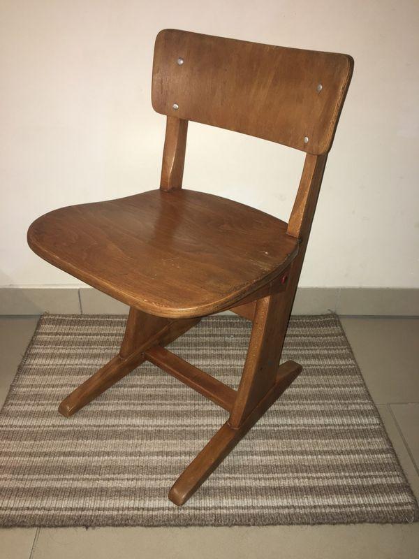 3 Stühle Kinder Vintage Casala
