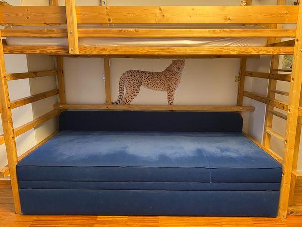 Hochwertiges ausziehbares Sofabett Doppelbett