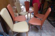 6 x moderne Küchenstühle Esszimmerstühle