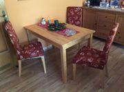 Esszimmer Sitzgruppe IKEA Tisch mit