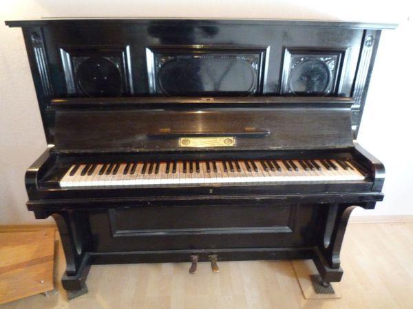 Antikes Klavier 1900 - Zimmermann Leipziger