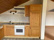 Einbauküche Küchenzeile voll Holz