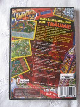 Bild 4 - Rollercoaster Tycoon 2 von Atari - Birkenheide Feuerberg